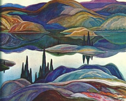 FranklinCarmichael-Mirror-Lake-1929