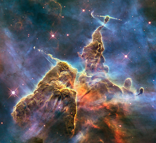 Carina Nebula, Hubble Telescope, NASA