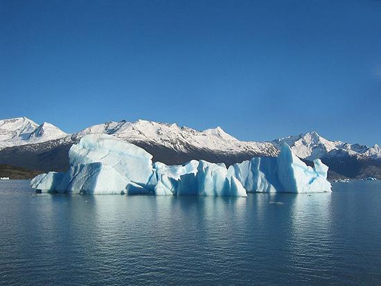 Iceberg in Lago, Argentina by Ilya Haykinson
