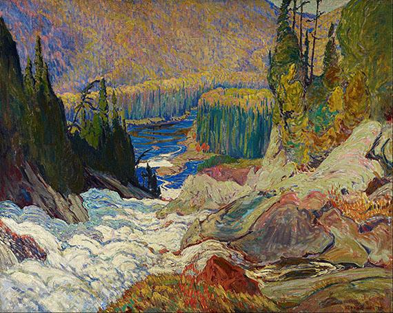 J. E. H. MacDonald, Montreal Falls