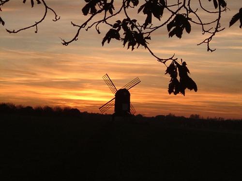 Pitstone Windmill by Rob Farrow