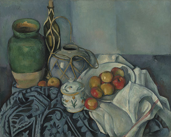Still Life with Apples; Paul Cézanne