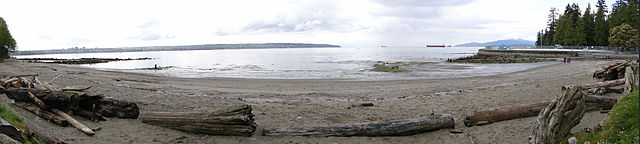 English Bay Panorama, Adam Jones PhD, 25-Apr-10