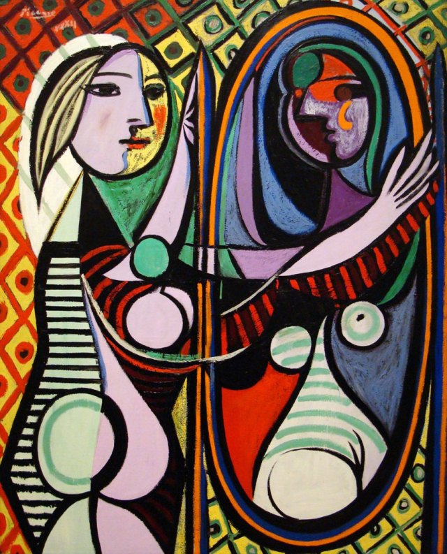 Pablo Picasso, Girl in front of Mirror (1932)