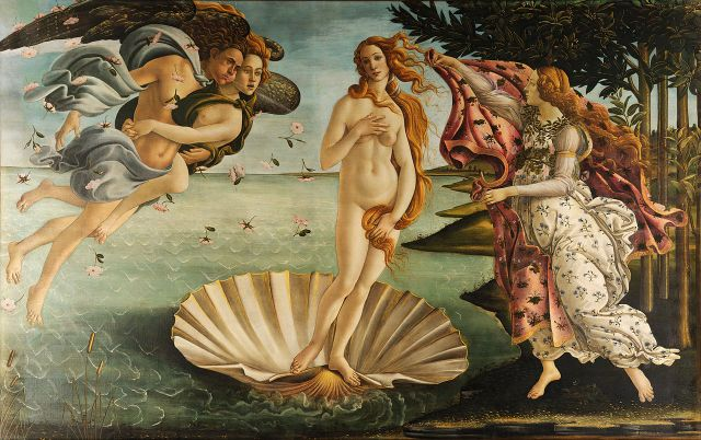 Sandro Botticelli, The Birth of Venus (c.1486)