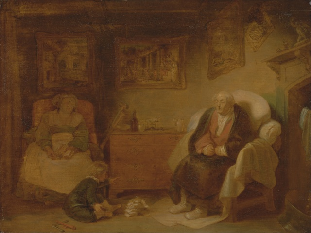 The Old Age, The Seven Ages of Man by Robert Smirke (1798- 1801)