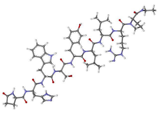 leuprorelin_ball-and-stick